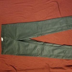H&M green jeggings